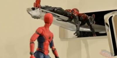 大成本制作,蜘蛛侠大战复联!好厉害