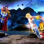 漫威超级争霸战:发光的惊奇队长,吓得奇异博士竖起兰花指