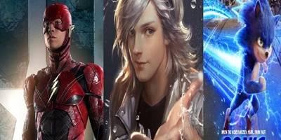 索尼克vs快银VS闪电侠,谁的速度最快?