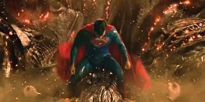 超人刚出场就被帅到了,不愧是超级英雄,视觉盛宴