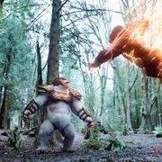 当闪电侠把速度分给金刚时,就算绿巨人来也不怕