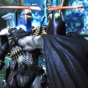 不义联盟:蝙蝠侠VS丧钟,召唤蝙蝠车直接撞飞对手