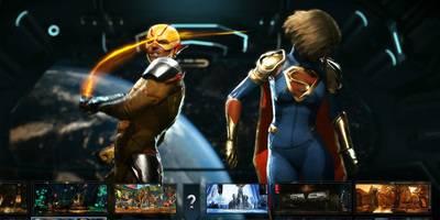 逆闪电VS女超人,逆闪电:你所有的攻击方式在我眼里都是慢动作
