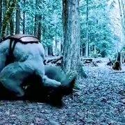 大猩猩有了闪电侠的速度,这不是分分钟吊打这灭霸猿,真刺激