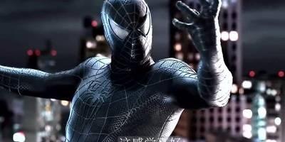 黑化之后的蜘蛛侠实力倍增,吊打沙人!共生体战衣太帅了!