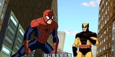 金刚狼和蜘蛛侠联手对抗剑齿虎,两人还会使出组合技