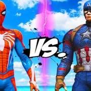 史诗级战斗:蜘蛛侠大战美国队长