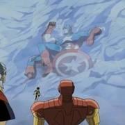 复仇者们找到了被冰封的美国队长,这个发现方式跟电影中不太一样