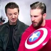 充满温馨的社会那该有多幸福啊,超级英雄是存在的,你看美国队长!