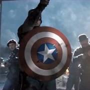 美国队长高燃混剪,这扔盾牌姿势一般人都学不来!