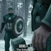 雷神的锤子和美国队长的盾牌完美的配合